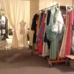 Wardrobe fitting for the movie Sparkle