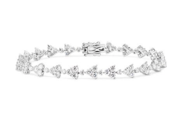 anita ko eternity 18 karat diamond bracelet